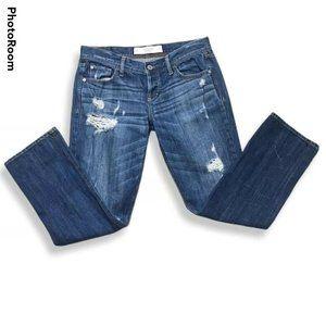 Abercrombie & Fitch Boyfriend 4 Jeans Distressed